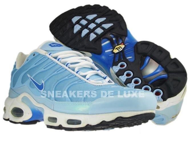 buy online 2a4e0 18ae3 Nike Air Max Plus TN 1 White Blue/Blue-Saphire White 605112-448