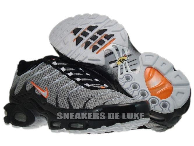 3a08507c71f5af English  Nike Air Max Plus TN 1 White Total Orange-Black 604133-180 ...
