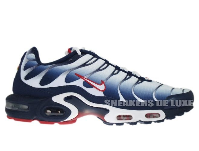 0a84de123c ... wholesale nike air max plus tn 1 white university red midnight navy  8a618 56cc4