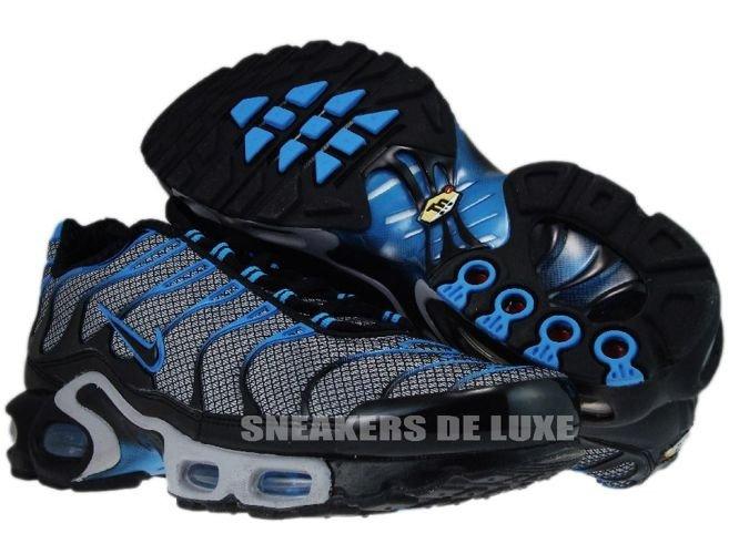 save off e8eb3 17e33 ... Nike Air Max Plus TN 1 Wolf Grey Black-Blue Glow ...