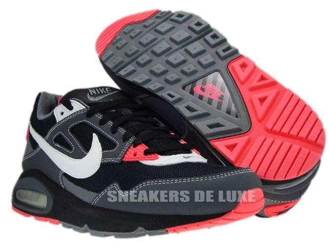 Nike Air Max Skyline BlackWhite Dark Grey Solar Red 343886