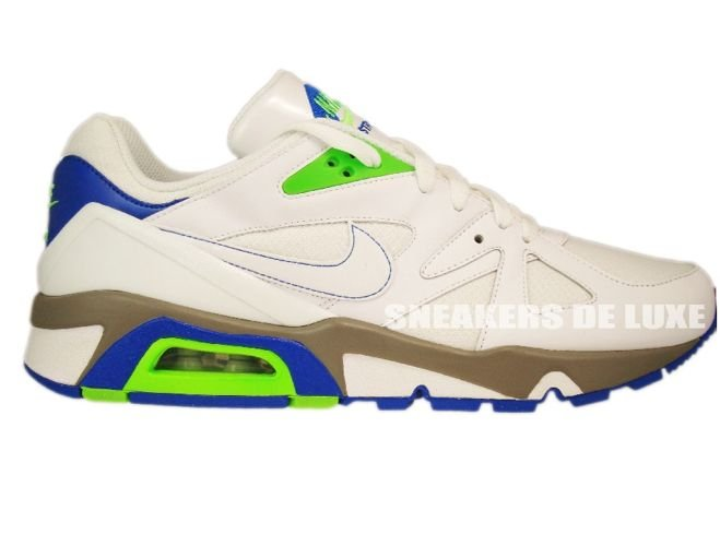 ad5dd68d179d Nike Air Structure 91 Triax White Electric Green Blue Sapphire 318088-111  ...
