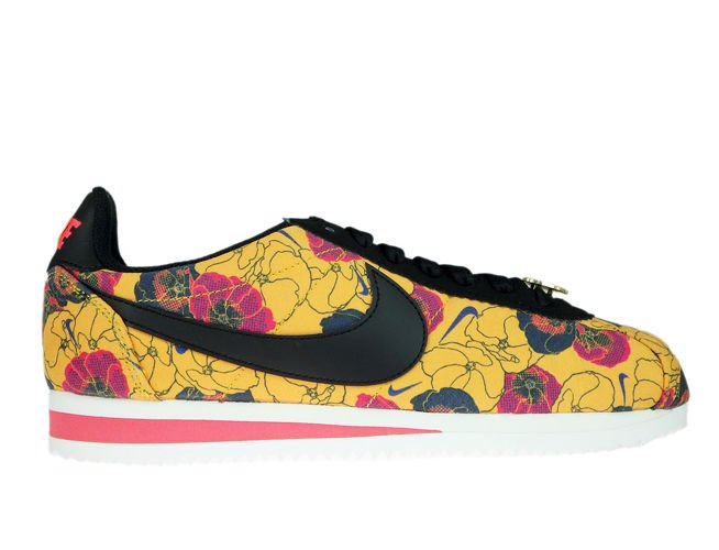 new products b8a14 35bf9 Nike Classic Cortez LX AV1338-700 Floral University Gold/Black