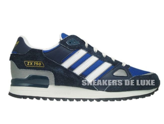 the latest a8acf 2d99f Q23655 Adidas ZX 750 Originals Legend Ink/True Blue ...