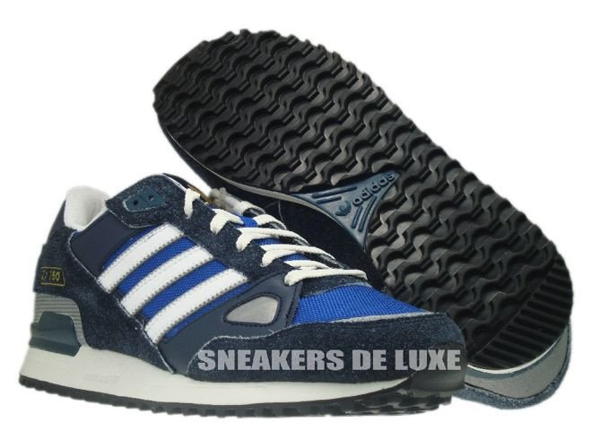 online store a3278 53f84 ... Q23655 Adidas ZX 750 Originals Legend Ink True Blue Running White ...