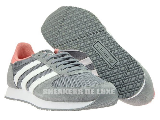 6099eac2aca English  S74985 adidas ZX Racer Grey   Ftwr White   Peach Pink ...