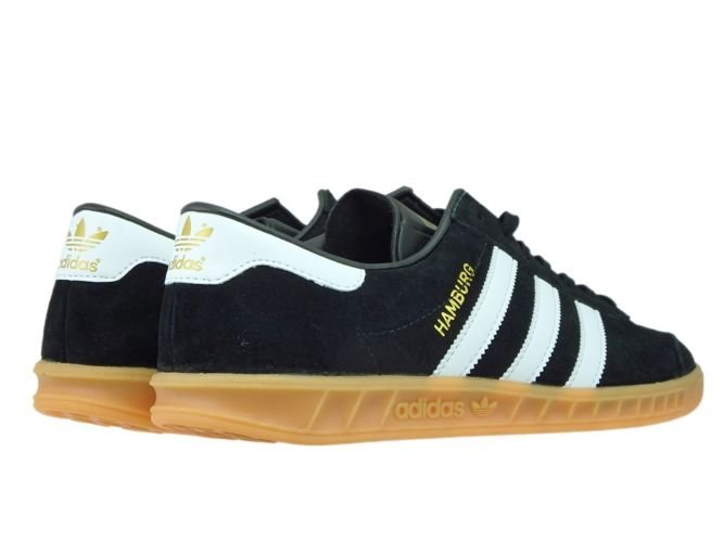 S76696 adidas Hamburg Core BlackFtwr WhiteGum