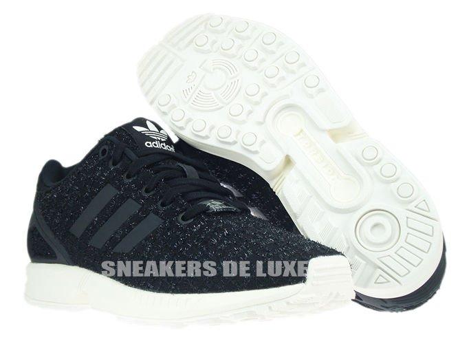 Inglés: s77309 adidas zx Flux Core negro / CORE negro / ftwr blanco