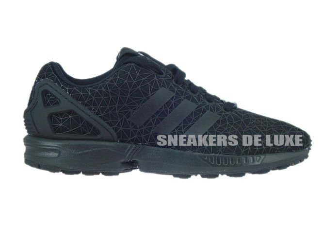 the best attitude 063aa 8034b S77311 adidas ZX Flux core black   core black   core black ...
