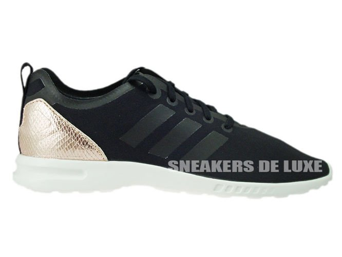 S78962 adidas ZX Flux ADV Smooth Core Black/Copper Met.