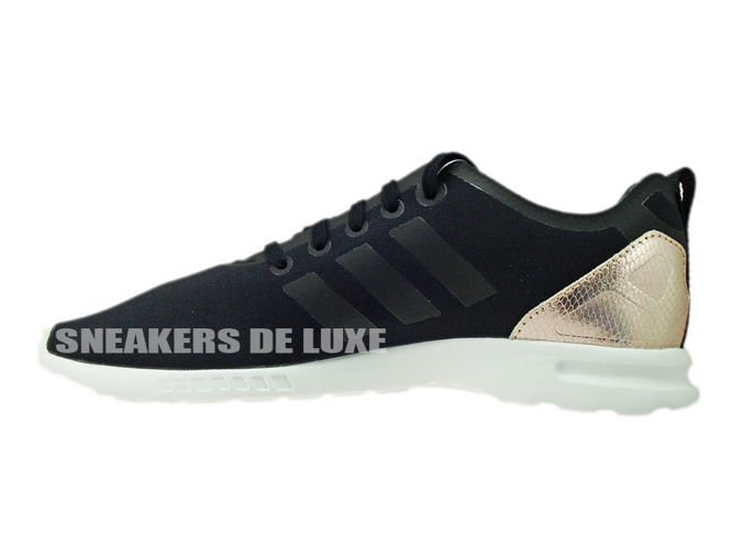 b24ba52449f4b Core White · S78962 adidas ZX Flux ADV Smooth Core Black Copper Met.