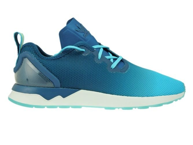 brand new c244c f1bee S79056 adidas ZX Flux ADV Asymmetrical Blue Glow/Mineral