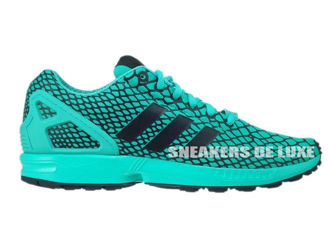 Adidas Originals ZX Flux Techfit Trainer Drossel und