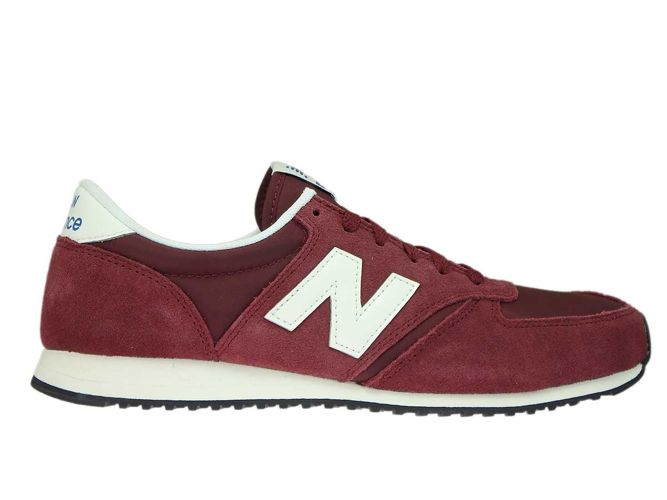 best loved 8a1d1 e7870 U420RDW New Balance Dark Red with Off White
