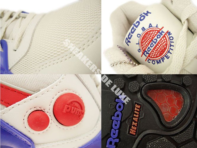 English  V60185 Reebok Pump Running Dual Vintage Chalk Sandtrap ... abe5d7df5