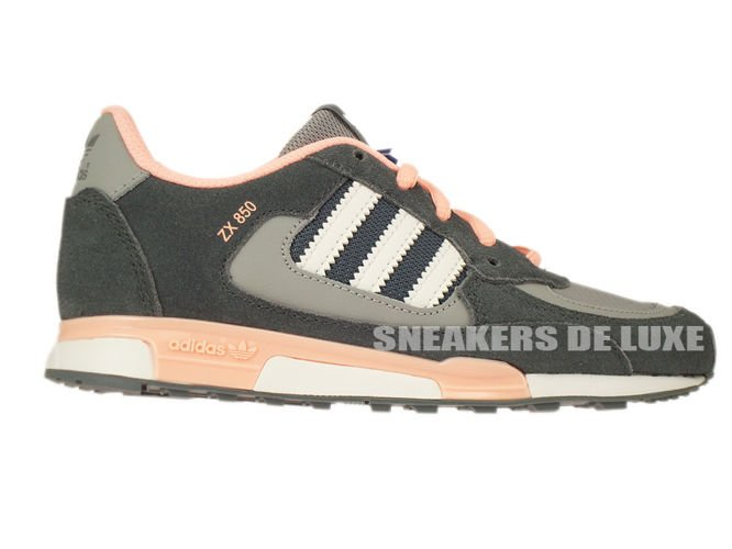 buy popular 16704 b6794 adidas ZX 850 D67821 Lead Running White Glow Coral