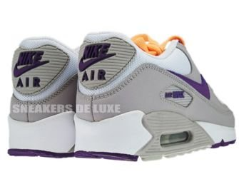 325213-009 Nike Air Max 90 Tech Grey/Club Purple-White