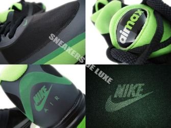 454347-030 Nike Air Max Alpha 2011+ Black/Anthracite-Neutral Grey-Gorge Green