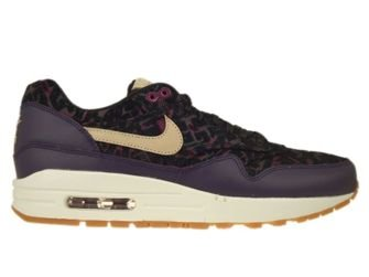 sports shoes 3258e 74c17 454746-500 Nike Air Max 1 Premium Purple DynastyLinen-Black-Raspberry ...