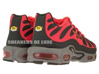 483553-006 Nike Air Max Plus TN 1.5 Hyperfuse Cool Grey/Black-Solar Red