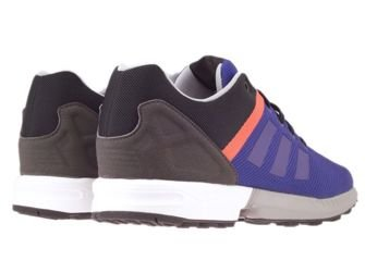 AF6357 adidas ZX Flux Split collegiate purple / collegiate purple / bold orange
