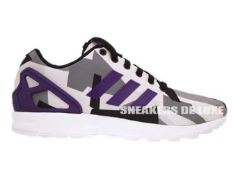 B34517 adidas ZX Flux Ftwr White / Collegiate Purple / Core Black
