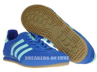 "BB5275 adidas Jeans City ""Bern"" Blue/Easy Green/Gum"