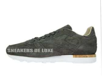 BD1903 Reebok Classic Leather LST Urban Grey/Stone/White