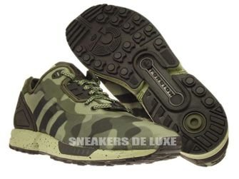 M19686 adidas ZX Flux Decon Camo Pack