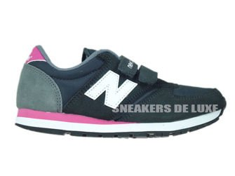 New Balance KE420GEY Black / White / Pink