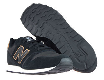 New Balance ML373MMT Black with Veg Tan