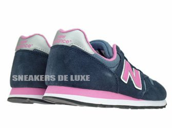 New Balance W373SNP 373 Navy / Pink Suede