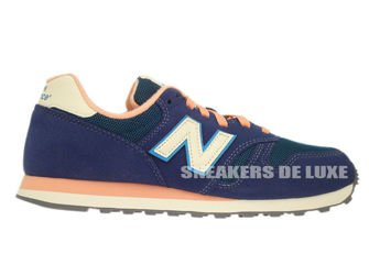 New Balance WL373AD Navy / Salmon