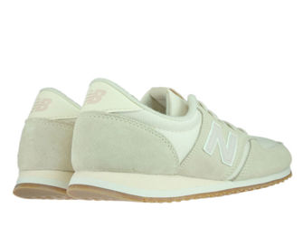 New Balance WL420BIR Beige with Faded Rose