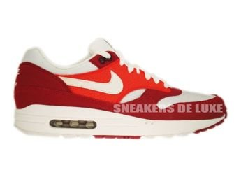 Nike Air Max 1 Legacy Red/White-Khaki-Gum-Dark Brown 308866-602