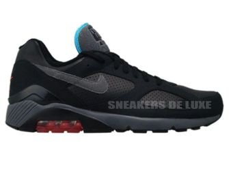Nike Air Max 180 Black/Dark Grey–Alarming Red–Chlorine Blue 310155-005