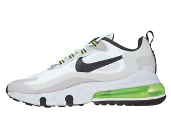 Nike Air Max 270 React CI3866-100 Summit White/Electric Green