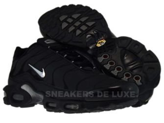 Nike Air Max Plus TN 1 Black/Chrome Metallic/Silver 604133-005