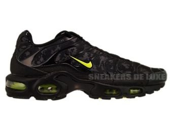 Nike Air Max Plus TN 1 Black/High Voltage-Dark Grey