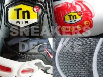Nike Air Max Plus TN 1 Black/Hot Red