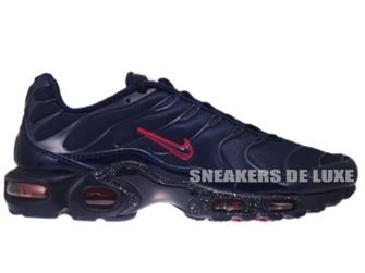 Nike Air Max Plus TN 1 Obsidian/Obsidian-Challenging Red