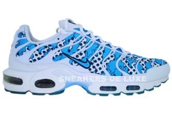 Nike Air Max Plus TN 1 White/University Blue-Midnight Navy
