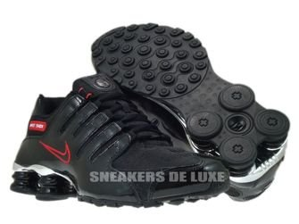 Nike Shox NZ EU Black/Sport Red 325201-025