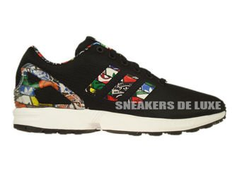 S77720 adidas ZX Flux core black / ftwr white / core black