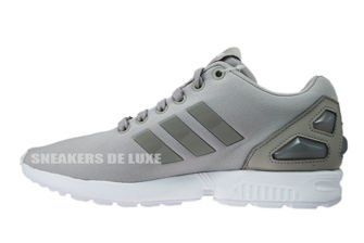 S79467 adidas ZX Flux Candy W Clear Granite/Clear Granite/White