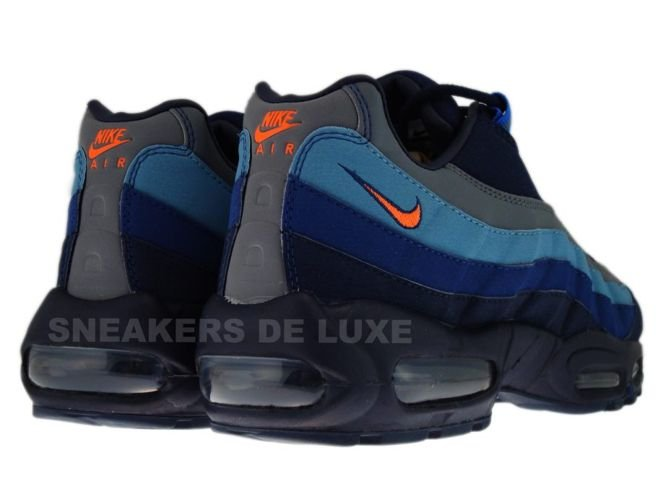 more photos 05137 f727f ... 329393-400 Nike Air Max 95 SI ObsidianTotal Orange-Meteor Blue- ...