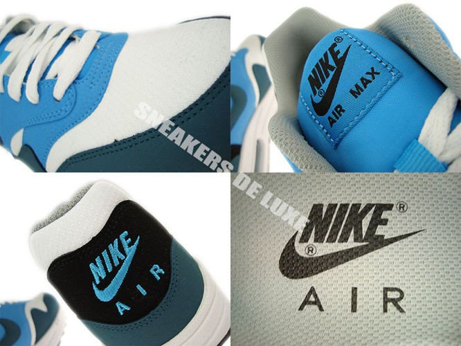 537383 102 Nike Air Max 1 Essential Night Factor Sneakers