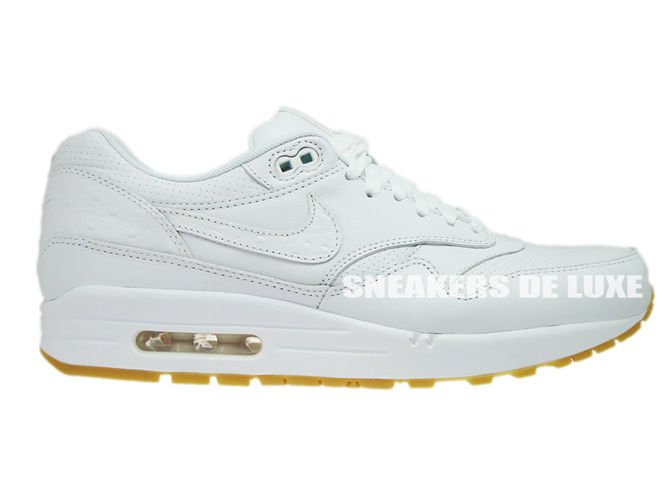 reputable site 9758c 144d8 705007-111 Nike Air Max 1 Leather PA White White-Gum Light Brown ...