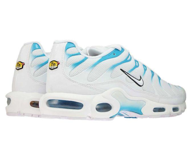 7820b9f55ce4 Obuwie  852630-105 Nike Air Max Plus TN 1 White White-Lt Blue Fury ...