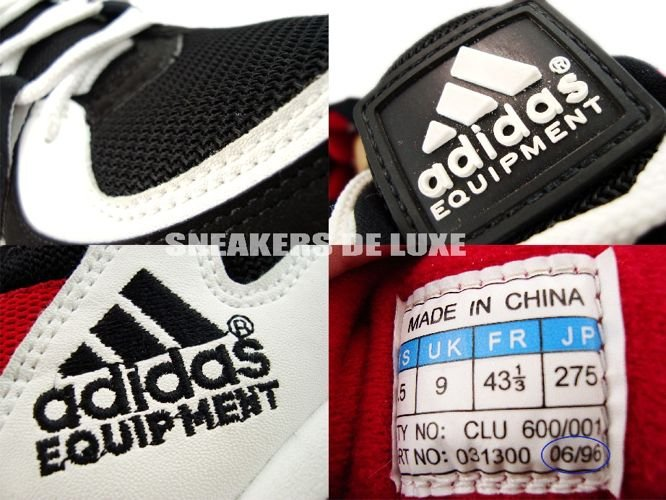 best website 743dc ea69c ... Adidas Equipment Black White Red 1996